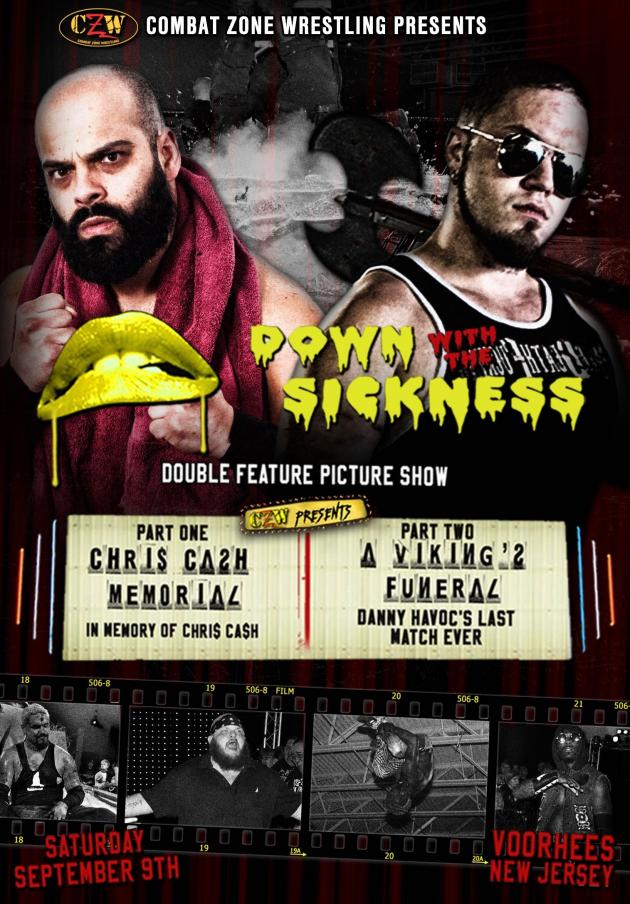 CZW - DOWN WITH THE SICKNESS 2017