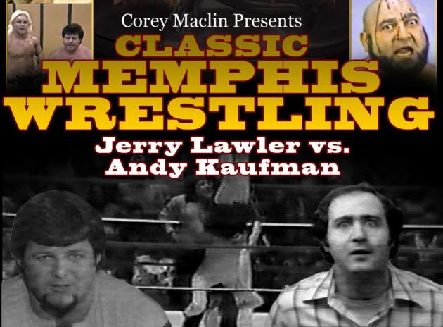 CLASSIC MEMPHIS WRESTLING - JERRY LAWLER VS. ANDY KAUFMAN