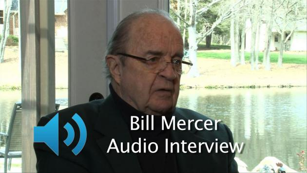 AUDIO - BILL MERCER - THE MAN WITH THE WORLD CLASS VOICE