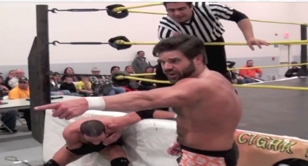 Joey Ryan vs Drake Younger Fighting Spirit Pro 1.17.14