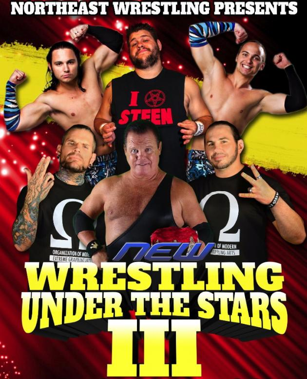 NEW - Wrestling Under the Stars 3