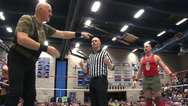 Sgt. Slaughter & Mark Shurman vs.