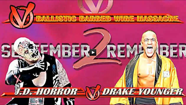 J.D. Horror VS Drake Younger (Ballistic Barbed Wire Massacre))