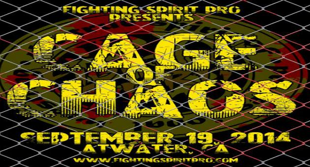 Fighting Spirit Pro presents The Cage of Chaos