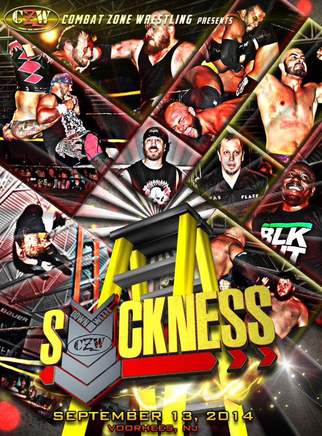 CZW DOWN WITH THE SICKNESS 2014