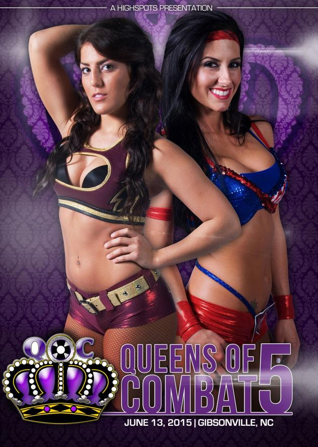 Queens of Combat 5 - Title Tournament Day 1