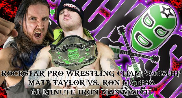 Rockstar Pro Presents: 60 Minute Iron Match from AMPED