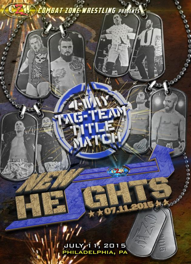Combat Zone Wrestling - New Heights 2015
