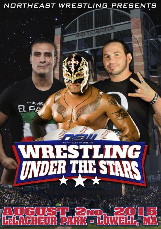 NEW WRESTLING UNDER THE STARS TOUR 2015 - LOWELL MA
