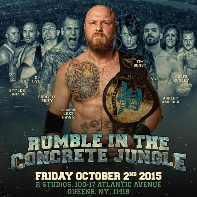 TIER 1 WRESTLING - RUMBLE IN THE CONCRETE JUNGLE