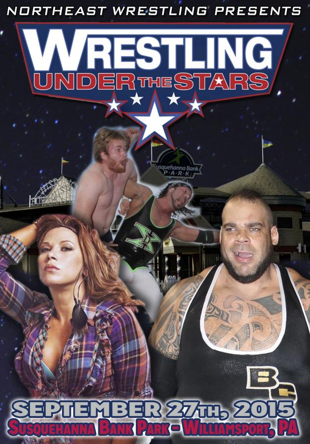 NEW WRESTLING UNDER THE STARS TOUR 2015 - WILLIAMSPORT PA