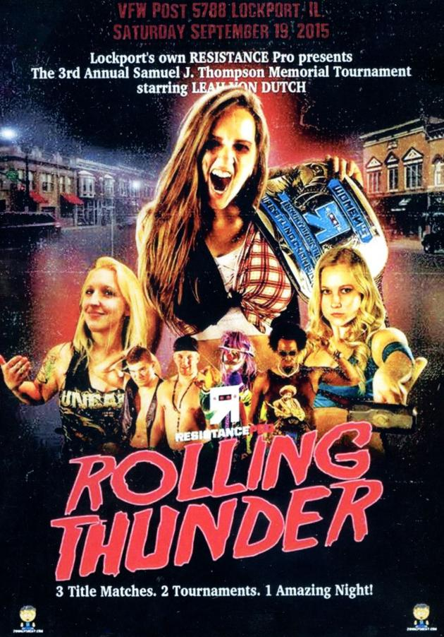 RESISTANCE PRO - ROLLING THUNDER