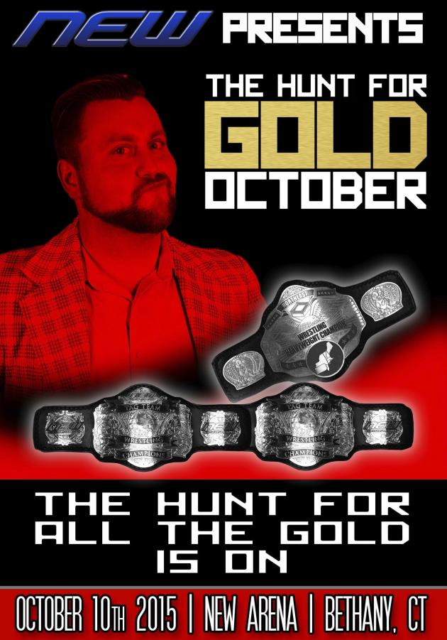NEW - THE HUNT FOR GOLD OCTOBER