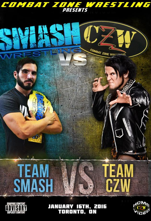 CZW VS. SMASH WRESTLING