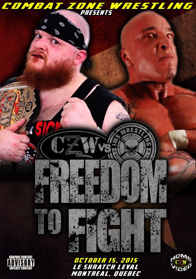 CZW - FREEDOM TO FIGHT