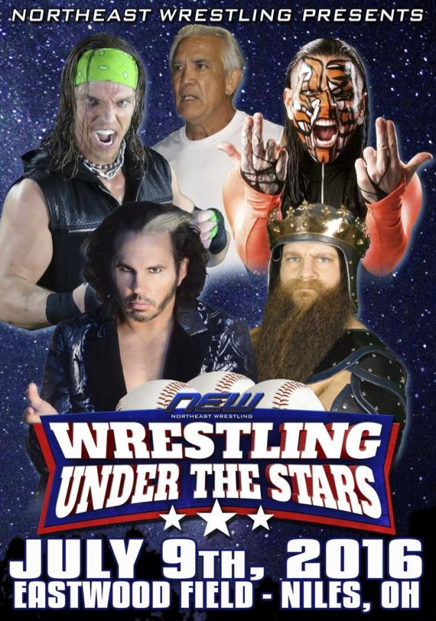 NEW Wrestling Under the Stars Tour 2016 - Ohio