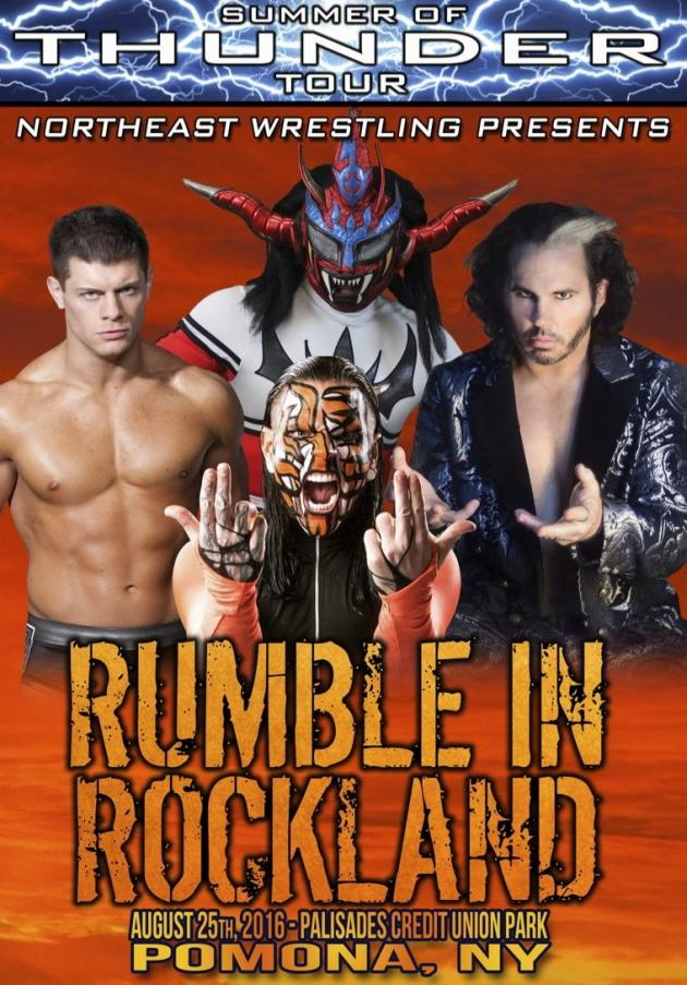 NEW RUMBLE IN ROCKLAND 2016