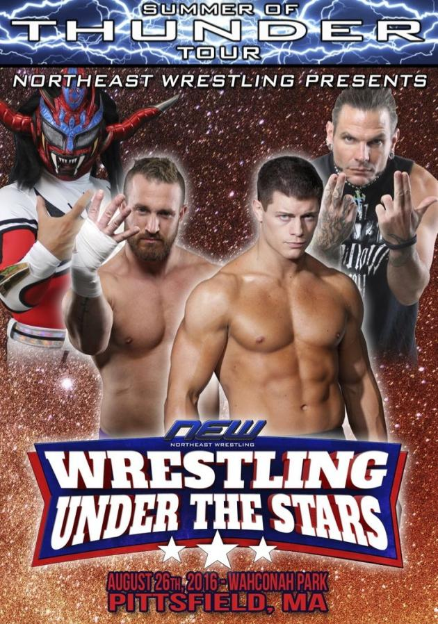 NEW WRESTLING UNDER THE STARS TOUR 2016 - PITTSFIELD MA