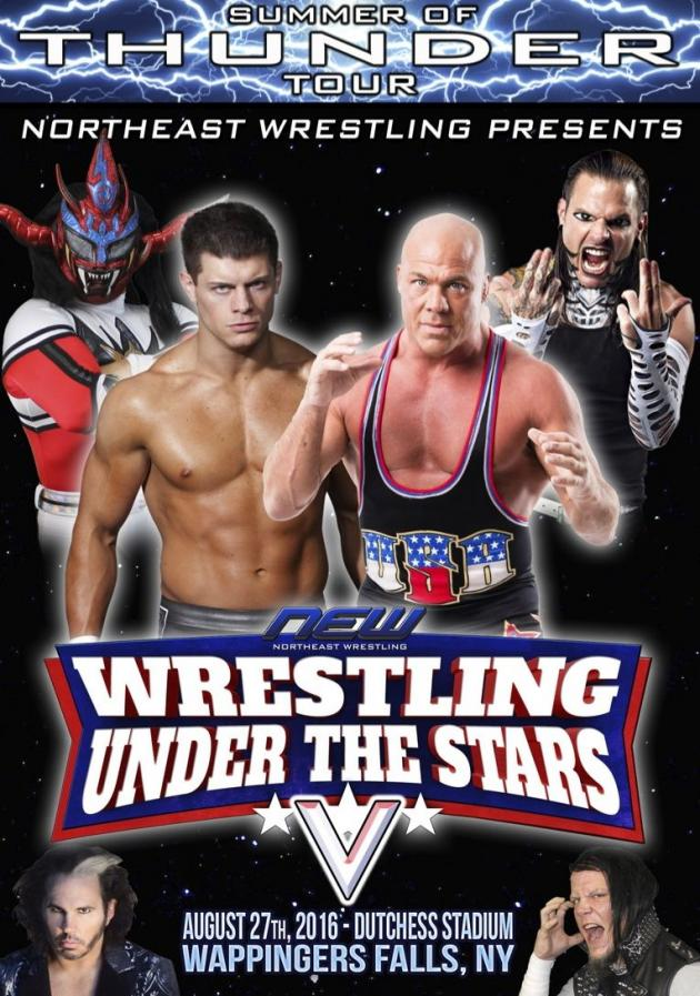 NEW WRESTLING UNDER THE STARS V