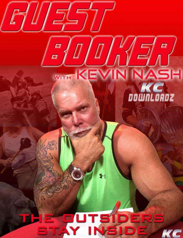 GUEST BOOKER W KEVIN NASH