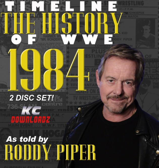 Timeline: History of WWE - 1984 - Roddy Piper