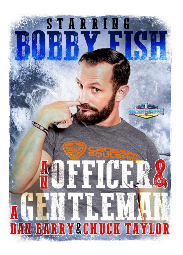 AN OFFICER AND A GENTLEMAN - BOBBY FISH