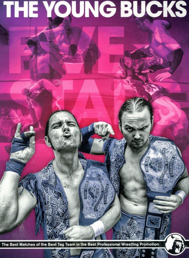 PWG - THE YOUNG BUCKS FIVE STARS -PART 1