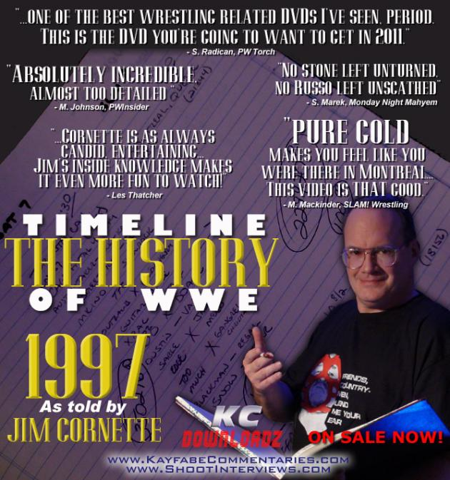 Timeline: The History of WWE - 1997 - Told by Jim Cornette
