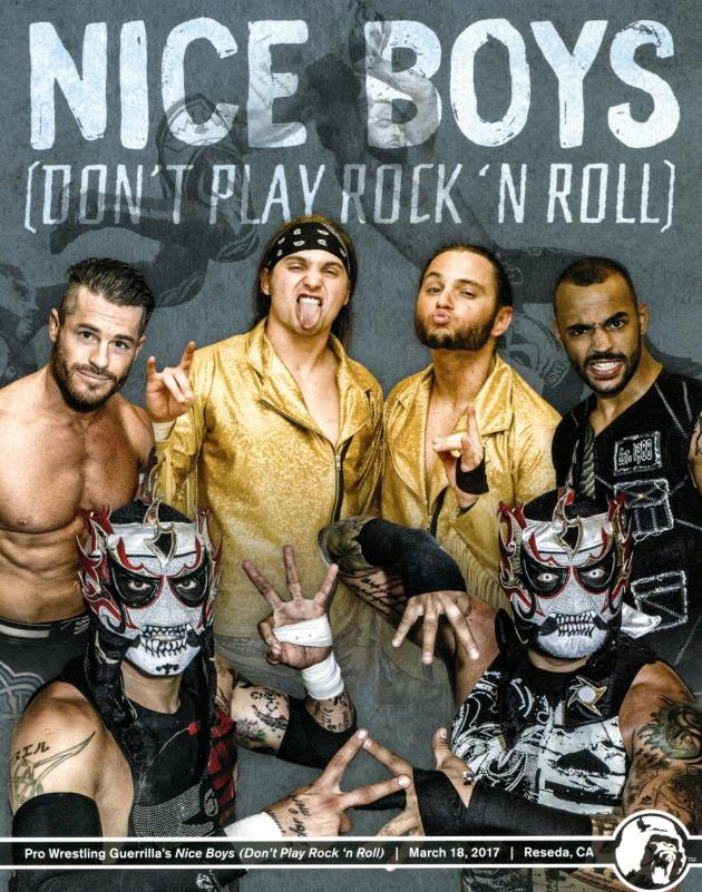 Pro Wrestling Guerrilla - Nice Boys Dont Play Rock n Roll