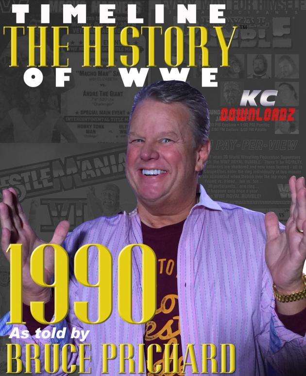 Timeline: History of WWE - 1990 - Bruce Prichard