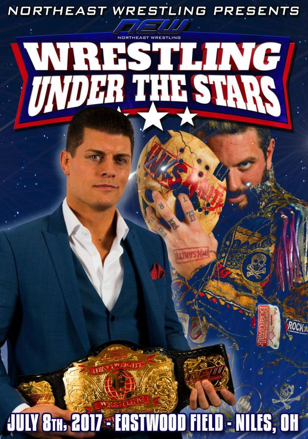 NEW - Wrestling Under the Stars Tour 2017 - Niles OH