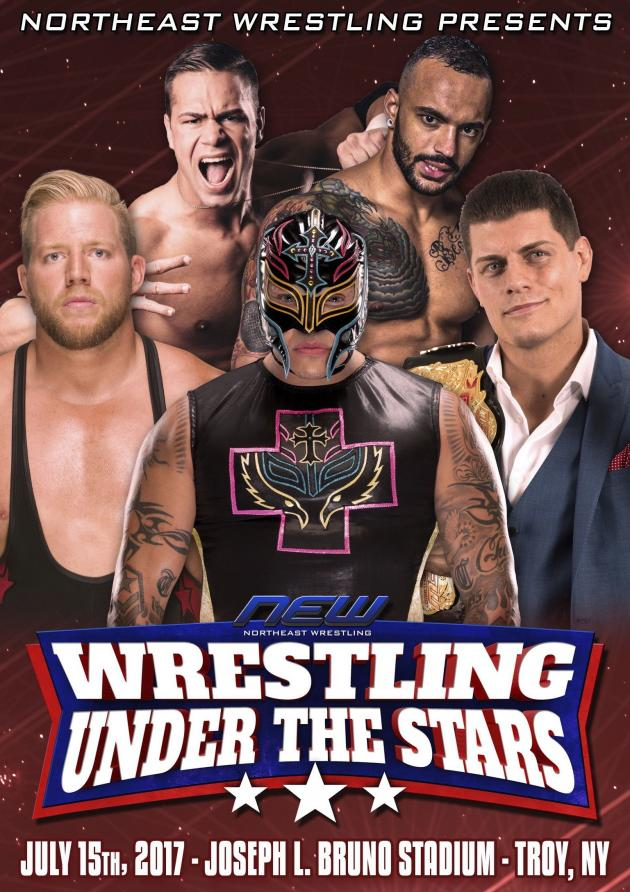 NEW - Wrestling Under the Stars Tour 2017 - Troy NY