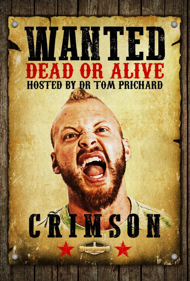 WANTED DEAD OR ALIVE - CRIMSON
